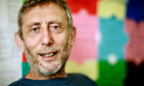 Michael Rosen is a children's novelist and a former British Children's Laureate Photograph: Graeme Robertson
